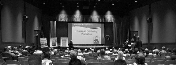 Fracking workshop is one of several going on in California. Held by the Department of Conservation (DOGGR) as part of an information gathering process aimed at the development of regulations governing hydraulic fracturing